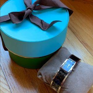 NWT Kate Spade Black/Silver Bracelet Watch